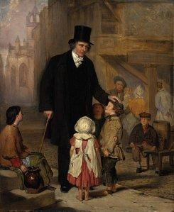 Rev Thomas Guthrie in Grassmarket
