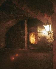 South Bridge Vault Dimly Lit Historic UK